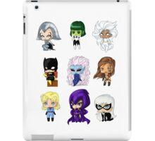 Chibi Heroines iPad Case/Skin