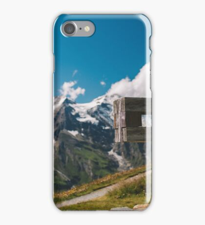 Alp Austria - Mountain - Kreuz iPhone Case/Skin