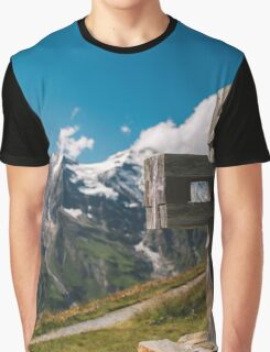 Alp Austria - Mountain - Kreuz Graphic T-Shirt