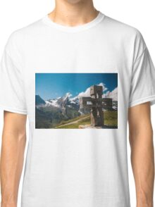 Alp Austria - Mountain - Kreuz Classic T-Shirt