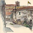 San Juan's church by Adolfo Arranz