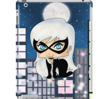 Chibi Black Cat iPad Case/Skin