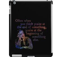 The End of Something - Fred Rogers iPad Case/Skin