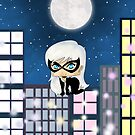 Chibi Black Cat by artwaste