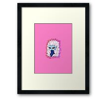 Chibi Copycat Framed Print