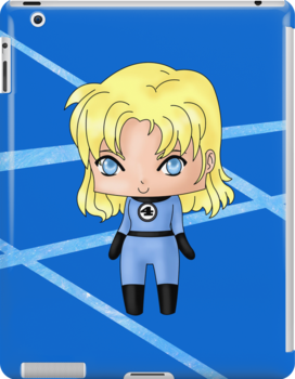 Chibi Invisible Woman by artwaste
