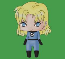 Chibi Invisible Woman Kids Clothes