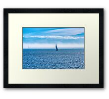 An Ocean To Themselves Framed Print