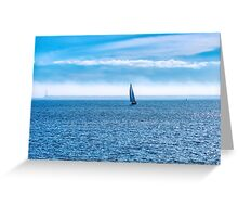 An Ocean To Themselves Greeting Card