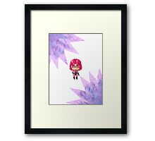 Chibi Diamondback Framed Print