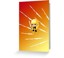 Chibi Magik Greeting Card