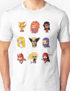 Chibi Heroines 3 T-Shirt