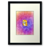 Chibi Dazzler Framed Print