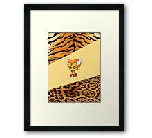 Chibi Feral Framed Print