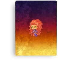 Chibi Starfire Canvas Print