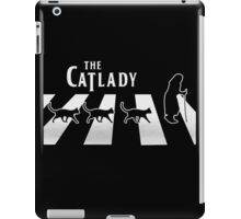 Cat Lady funny parody iPad Case/Skin