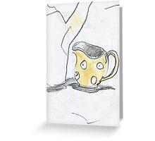 TPot and Spotty Jug Greeting Card