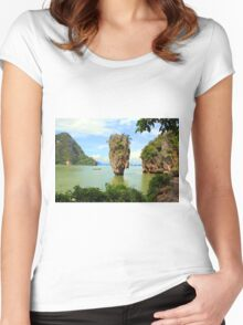 007 island Women's Fitted Scoop T-Shirt