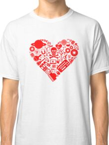 Science Heart - Red Classic T-Shirt