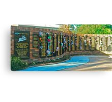 The Truckie's Memorial Canvas Print