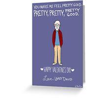Larry David Greeting Card