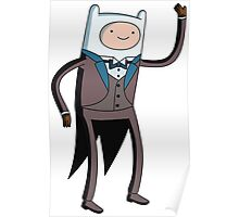 Tuxedo Finn! Poster