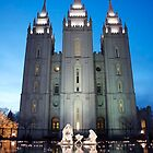 Temple by Nicole  Markmann Nelson