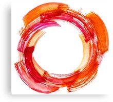 Abstract Watercolor Stroke Canvas Print
