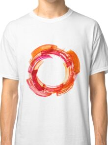 Abstract Watercolor Stroke Classic T-Shirt
