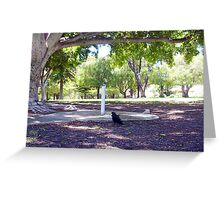 Another Crow 23 12 12 Greeting Card