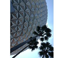 Spaceship Earth Photographic Print