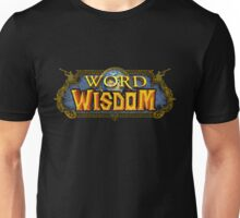 Word of Wisdom - Directly Eternal Designs Unisex T-Shirt