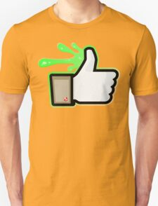 FACEBOOK X GHOSTBUSTERS (GB1 SLIMED) T-Shirt