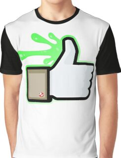 FACEBOOK X GHOSTBUSTERS (GB1 SLIMED) Graphic T-Shirt