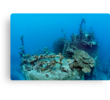 Khanka - The Russian Wreck and Story Canvas Print