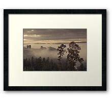 A Misty Eden Valley Framed Print