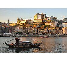 Sunset at Porto Photographic Print