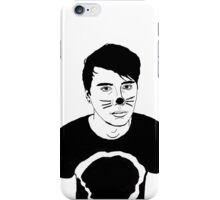 Dan Howell - Black and White iPhone Case/Skin
