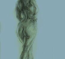 Figure Drawing by hasanabbas