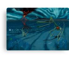 Duralumin Dragons Gloaming Canvas Print