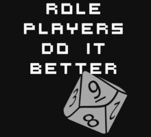 Roleplayers do it better Kids Clothes