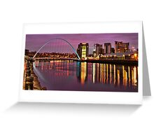 Early Morning in Newcastle Greeting Card