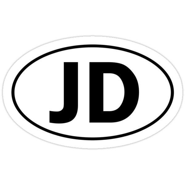 JD - Oval Identity Sign by Ovals