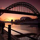 Tyne Bridge At Sunrise by Great North Views