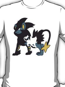【11700+ views】Pokemon  Shinx>Luxio>Luxray T-Shirt