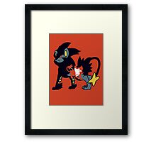 【11700+ views】Pokemon  Shinx>Luxio>Luxray Framed Print