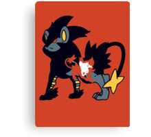 【11700+ views】Pokemon  Shinx>Luxio>Luxray Canvas Print