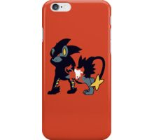 【11700+ views】Pokemon  Shinx>Luxio>Luxray iPhone Case/Skin
