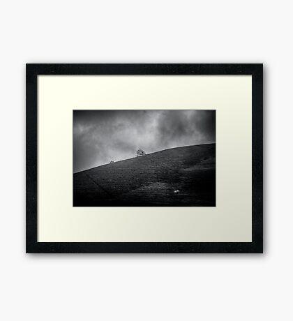 Silent Chaos Framed Print