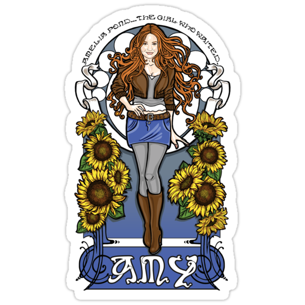 The Girl Who Waited (Amy in sunflowers) by Ameda Nowlin